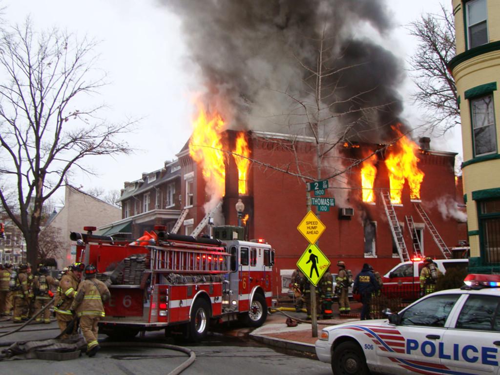 jak przetrwać pożar